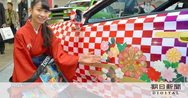 屋根にお城! ド派手な「日本車」、整備士の卵が制作:朝日新聞デジタル