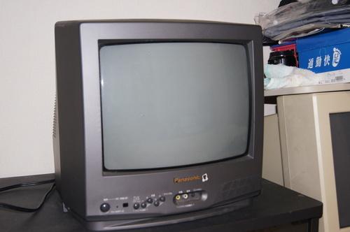 一人暮らしの方、家にTVはありますか?