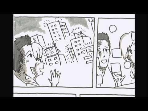 鉄拳パラパラマンガ「名もない毎日」 RAM WIRE ミュージックビデオ - YouTube