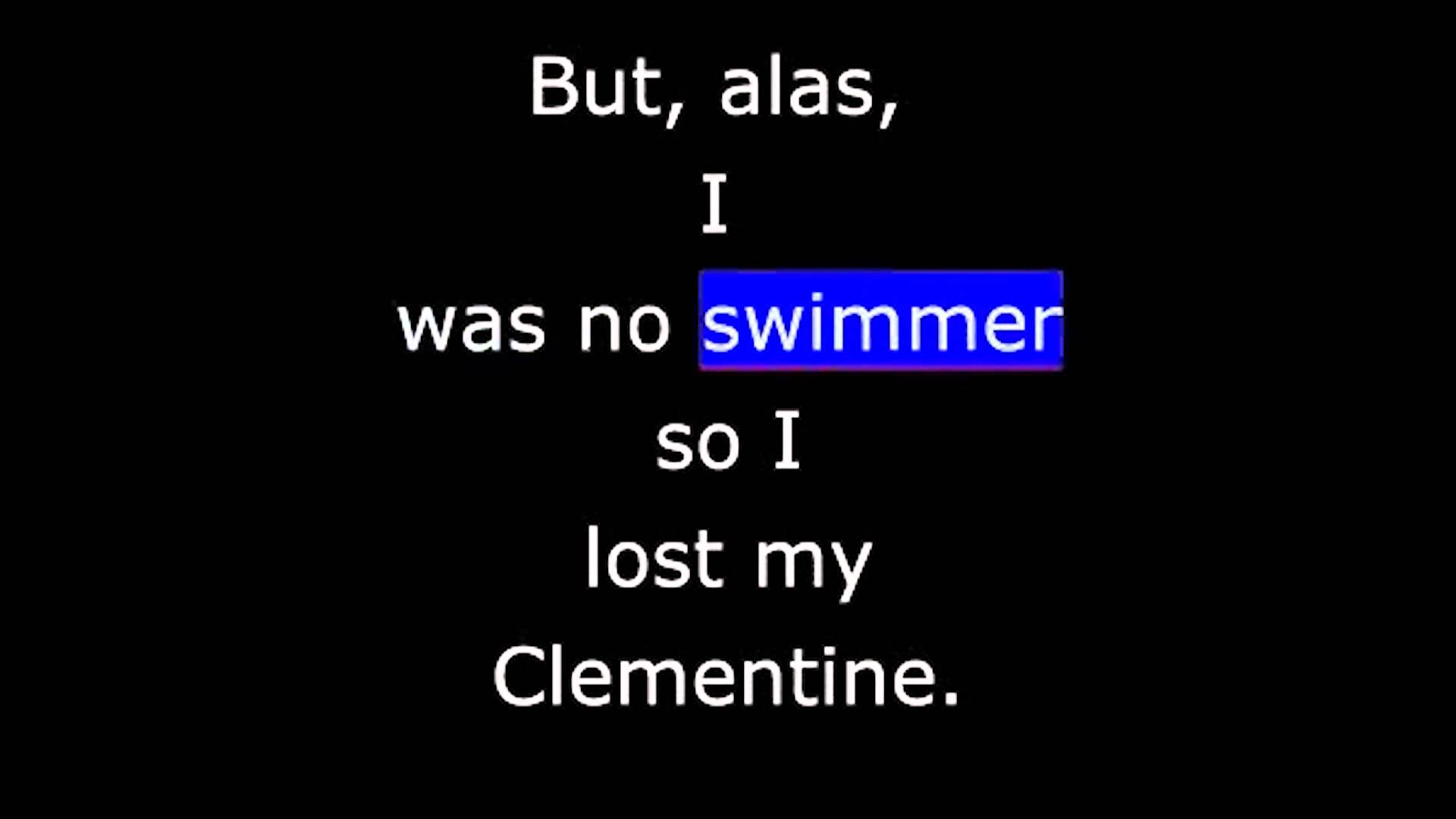 Songs - Oh My Darlin' Clementine - YouTube