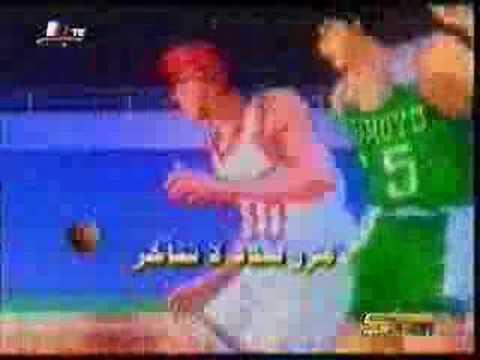 アラブ版スラムダンクOP - YouTube