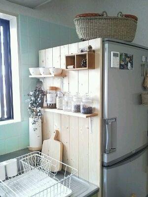 狭いキッチンの工夫