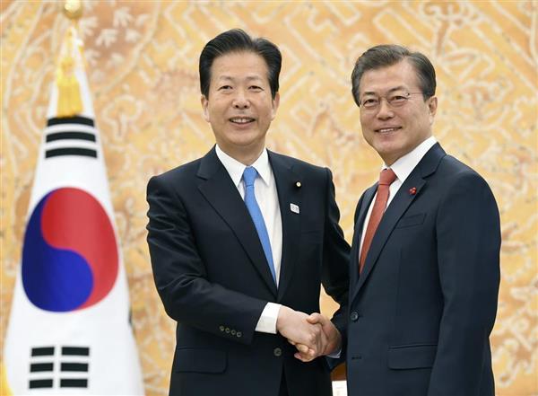 安倍晋三首相、平昌五輪開会式出席へ 「日韓合意新方針は受け入れられぬ。文在寅大統領に直接伝えたい」