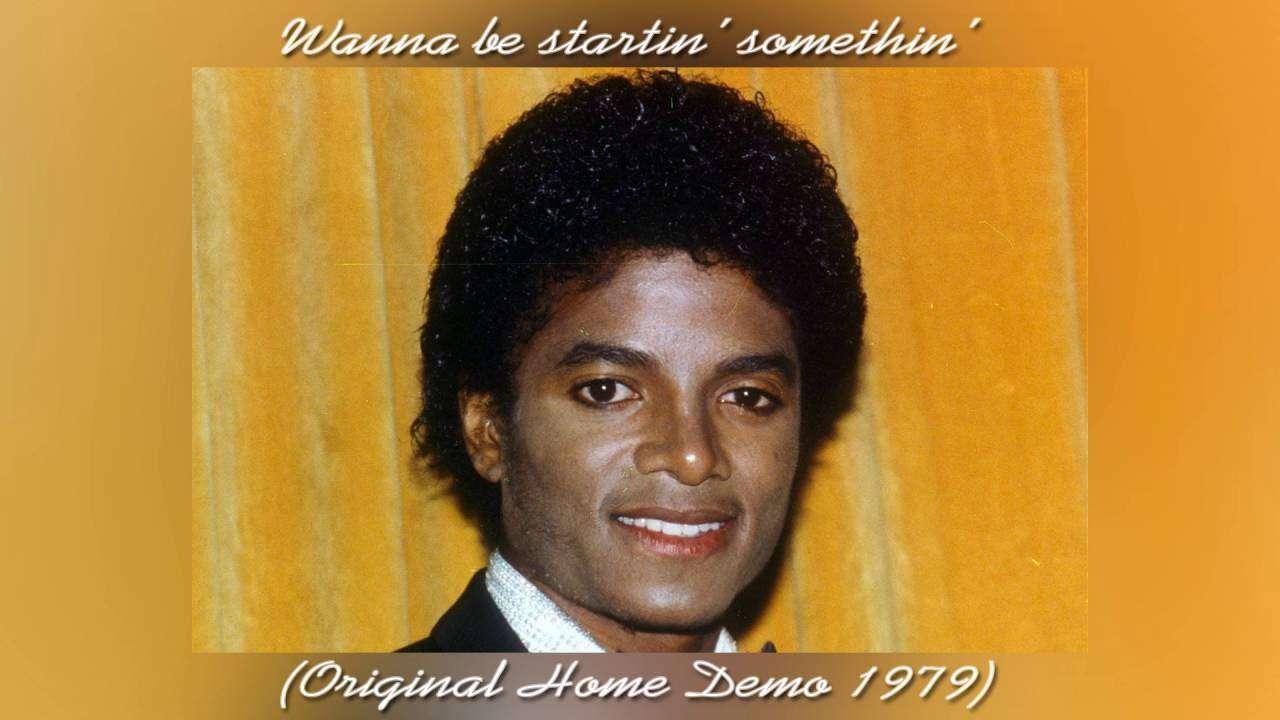 Rare: Michael Jackson | Wanna be startin' somethin' (Original Home Demo 1979) - YouTube