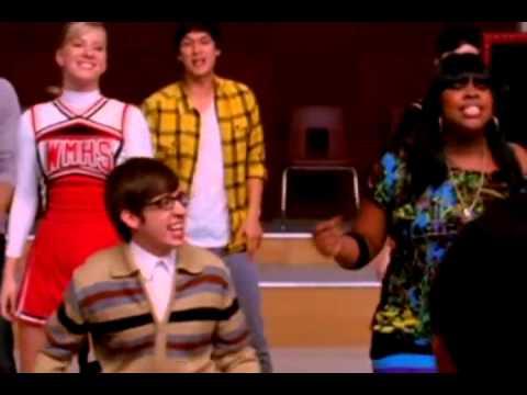 GLEE - Full Performance of ''Lean On Me'' - YouTube