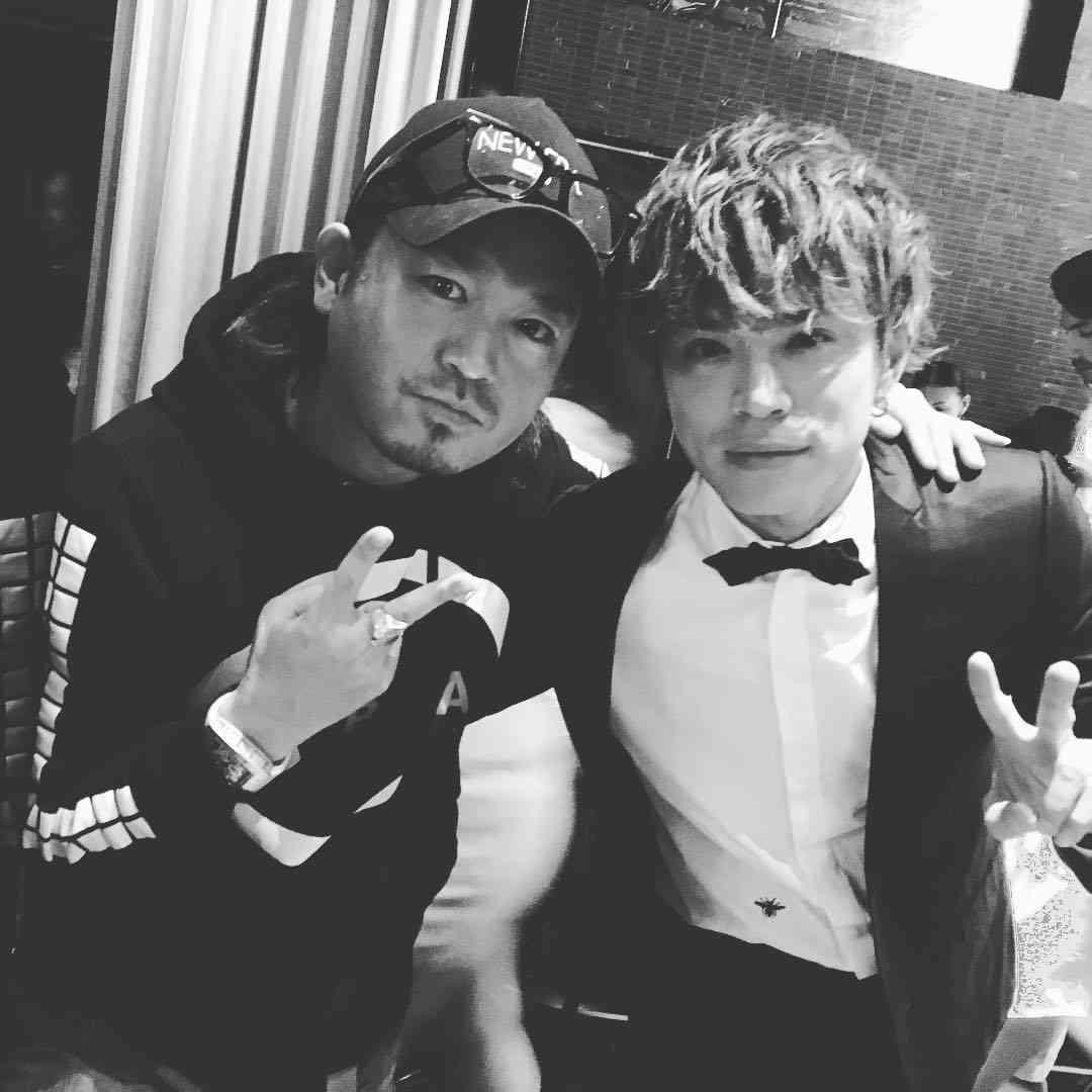 山本裕典氏と2ショット 仁科克基「元気そうで良かった!」