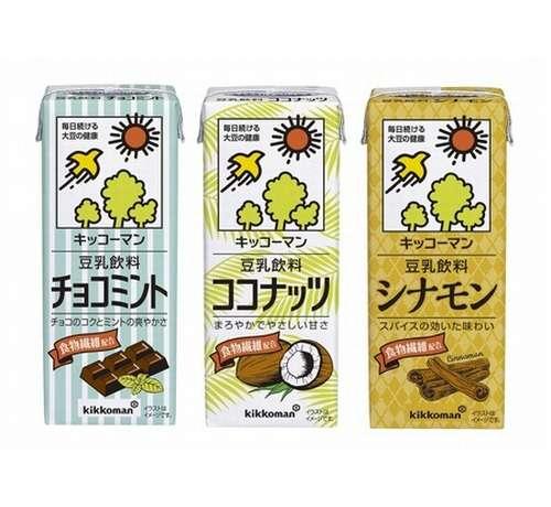「キッコーマン 豆乳飲料」にチョコミント味