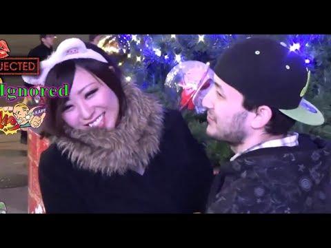 外国人が(初対面の)日本人とのキスにチャレンジ - YouTube