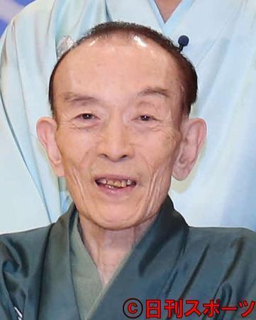 桂歌丸1月いっぱい休演 自宅で静養し復帰時期未定