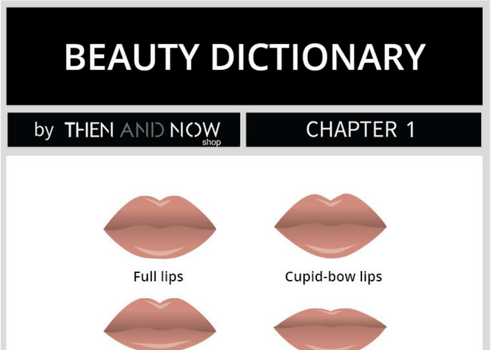 Make-up Tips for Different Lip Shapes | THEN AND NOW