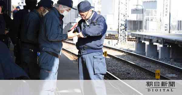 電車と接触し中2死亡 ホームから飛び降りか 京阪電鉄:朝日新聞デジタル