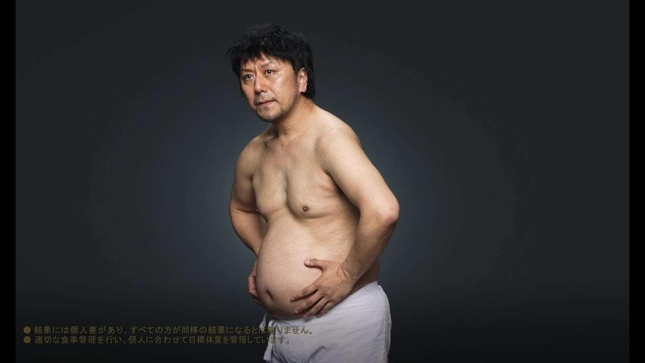 歌舞伎役者・市川九團次、ライザップで3ヶ月でマイナス24、8キロ - YouTube