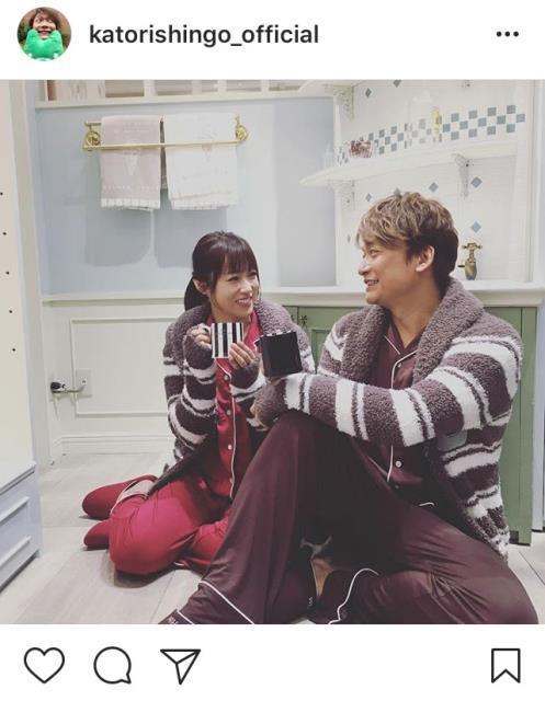 香取慎吾、深田恭子のインスタ2ショット披露に「素敵な2人」 : スポーツ報知