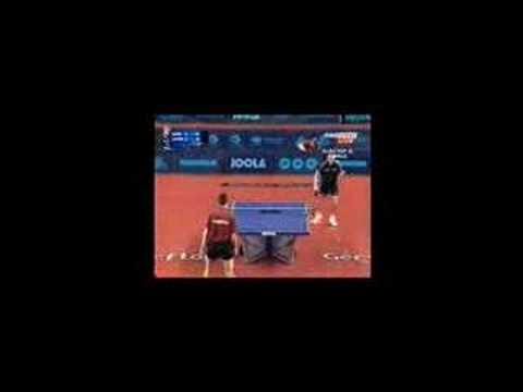 Table Tennis- The Art of Cho - YouTube