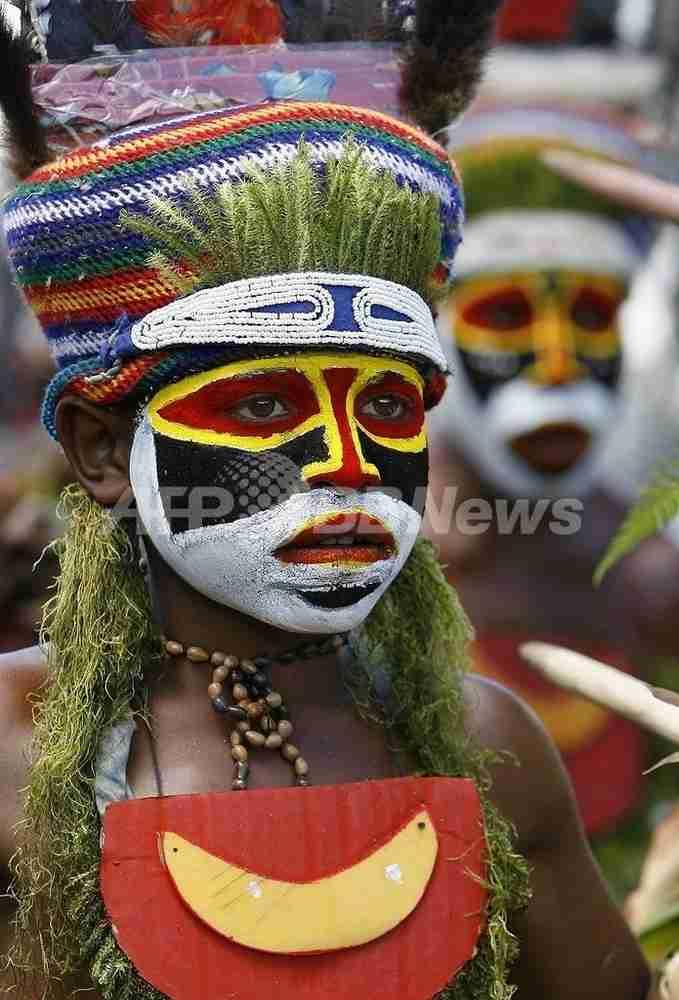 村ぐるみで男の赤ちゃん殺害、部族戦争止めようと10年間 パプアニューギニア 写真1枚 国際ニュース:AFPBB News