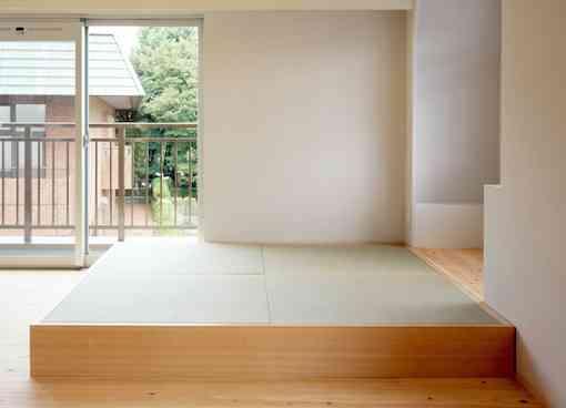 リビングの畳スペースについて