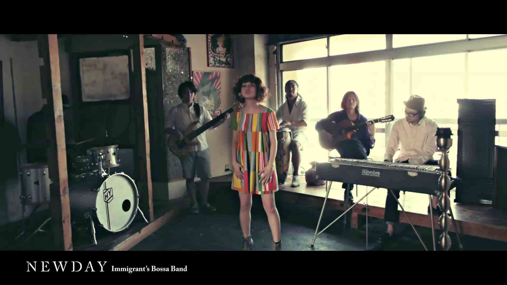 Immigrant's Bossa Band / NEWDAY (short Ver.) - YouTube