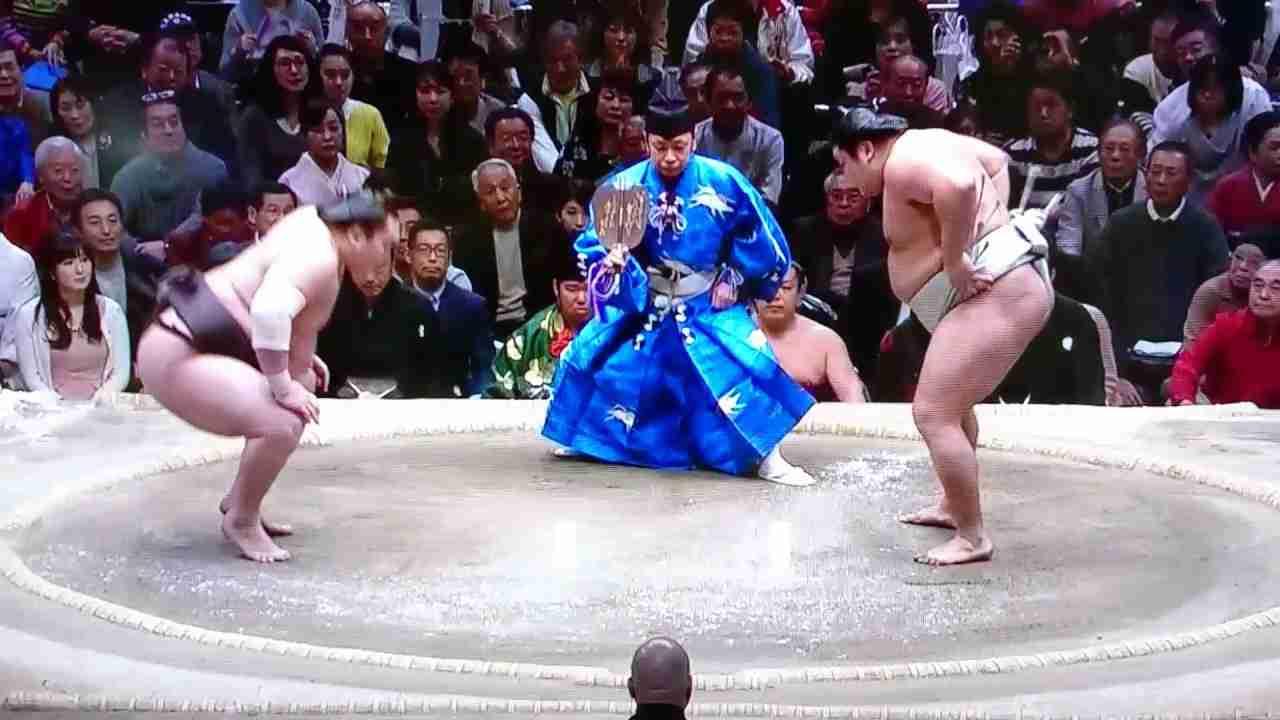 白鵬vs貴ノ岩 平成29年1月21日(14日目) - YouTube