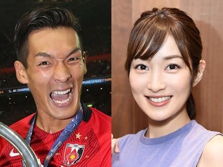 槙野智章、高梨臨と来月結婚へ! 人気女優と交際1年8カ月、挙式などは未定
