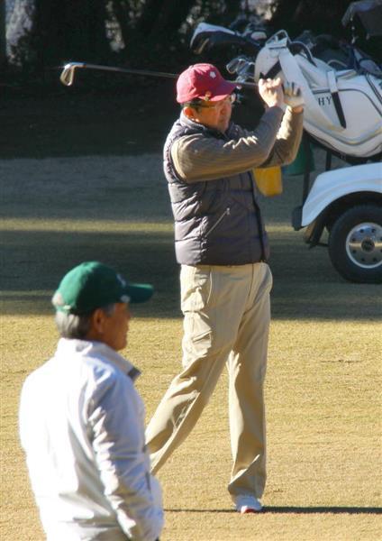 首相、今年初のゴルフ「改革に全力」 経団連トップらとのゴルフで「賃上げの雰囲気がある」 - 産経ニュース