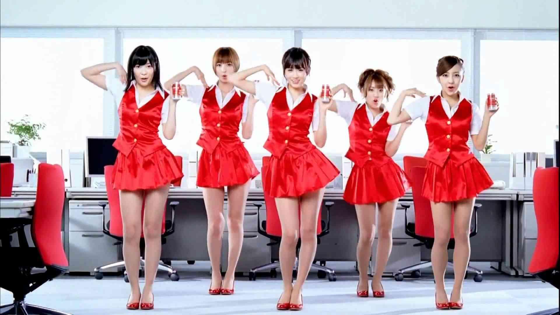 【CM】WONDA×AKB48「ダンス」 - YouTube
