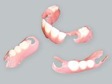 部分入れ歯をしている方