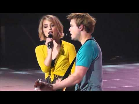 Lucky - Glee Live 2011 - YouTube