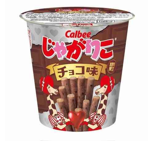 「じゃがりこ」初のチョコ味、困難乗り越え遂に   Narinari.com