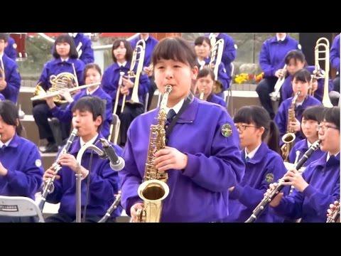 天理高校  「宝島」第28回全日本高等学校選抜吹奏楽大会 - YouTube