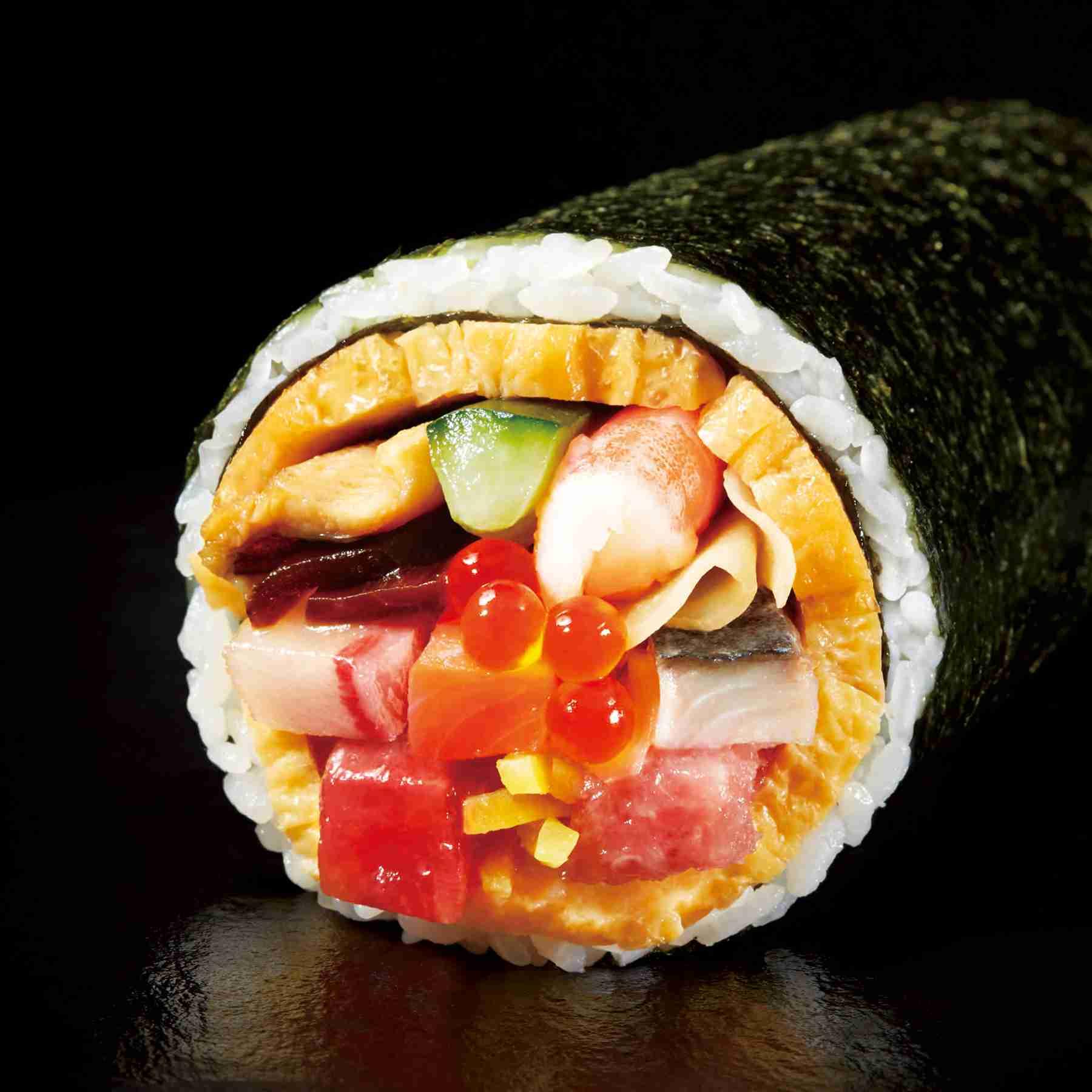 イオンの恵方巻は、豪華海鮮太巻を主役に最大19種類|「イオンスタイル」