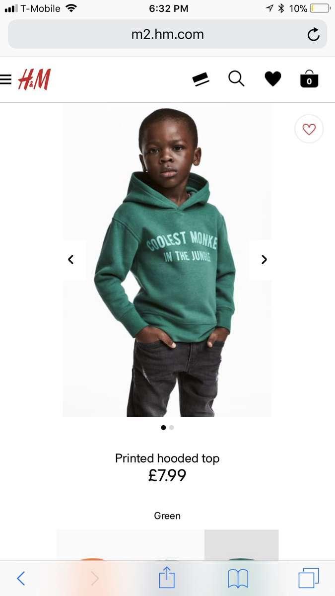 「ジャングルで最もかっこいい猿」H&M モデルに黒人少年起用のパーカー広告で謝罪