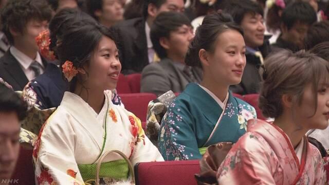 東京23区の新成人 8人に1人が外国人 | NHKニュース