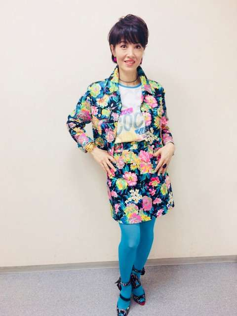 とくダネ!生放送のハプニング|荻野目洋子オフィシャルブログ powered by アメブロ