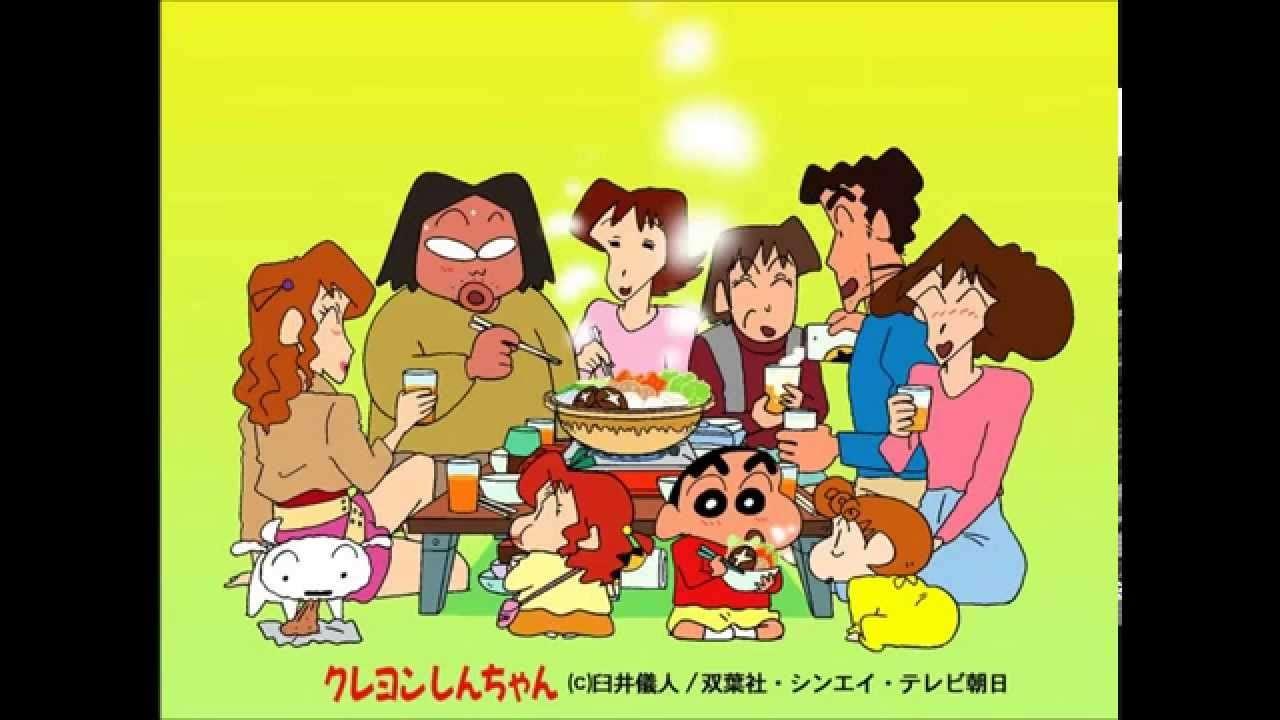小川七生 月灯りふんわり落ちてくる夜 クレヨンしんちゃんED Vol. 09 - YouTube