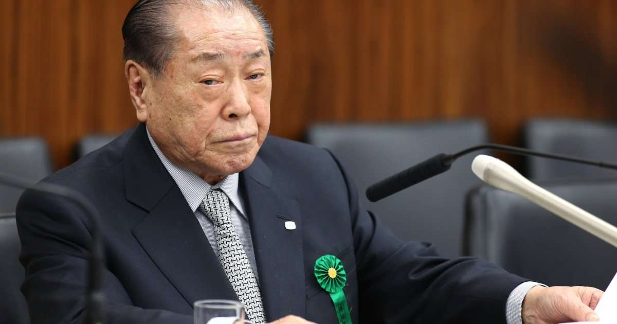 野中広務氏、京都のホテルで倒れる 病院に緊急搬送