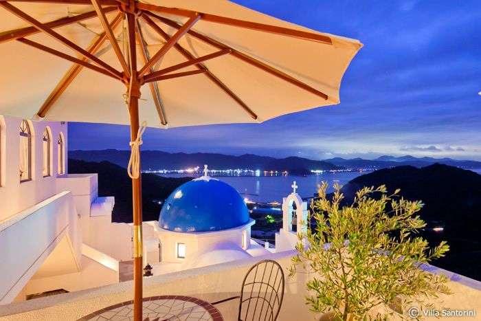 【写真】日本とは思えない青と白の絶景!ギリシャのリゾート「サントリーニ島」が高知県にある | トラベルjp<たびねす>