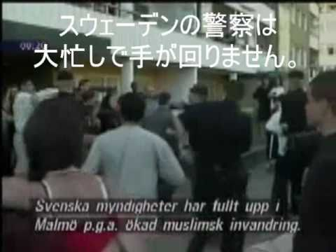スウェ-デンの現状 移民政策の結果 - YouTube