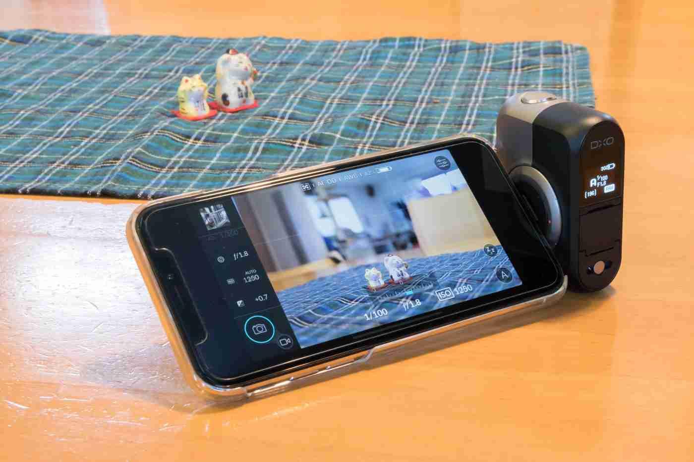 iPhoneにちょい足しで本格一眼カメラに変身『DxO One』に惚れた - Engadget 日本版