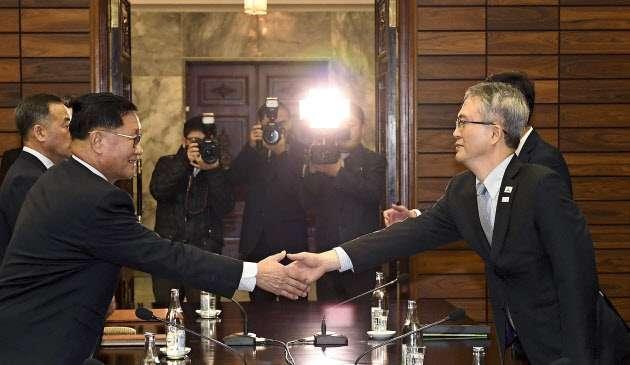 北朝鮮、五輪「人質」に揺さぶり 楽団派遣で両国合意 (写真=AP) :日本経済新聞