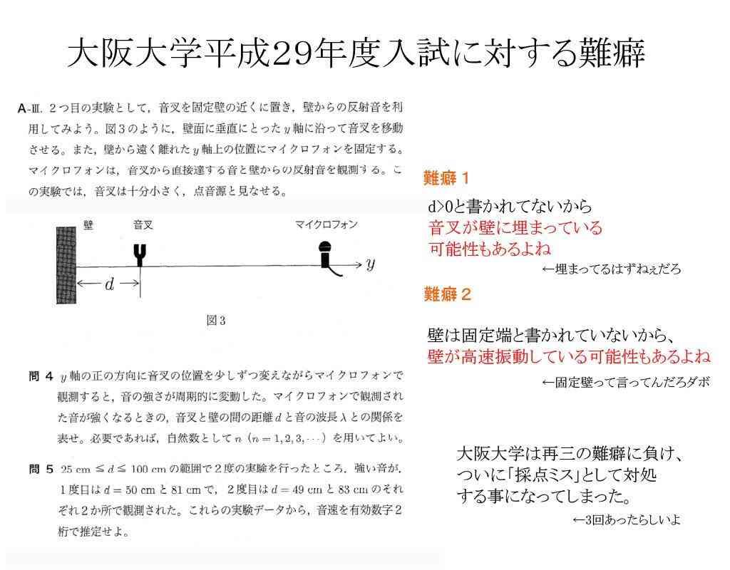 大阪大学の入試ミス 追加合格した男性は「今さら言われても」と戸惑い