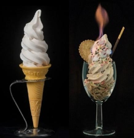 25度でも30分は溶けない!? 不思議なソフトクリームが東京・大阪に登場 : J-CASTトレンド