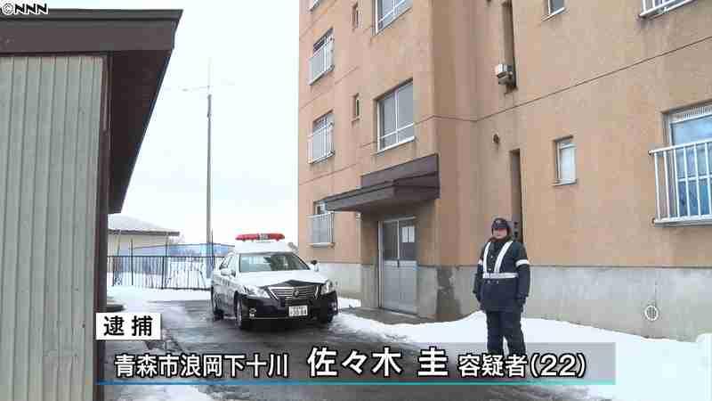 包丁で刺され女性死亡 22歳息子逮捕