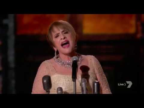 Patti LuPone Performs 'Don't Cry For Me Argentina' at 60th Annual Grammy Awards 2018 - YouTube