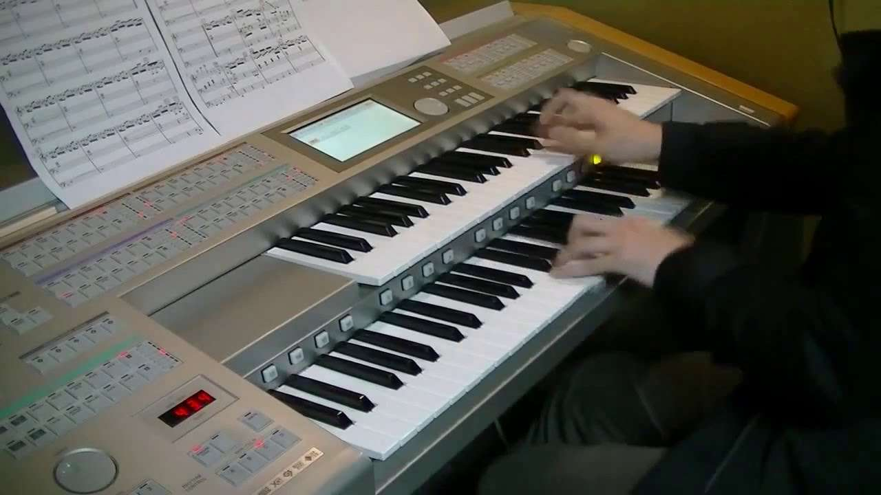 Gokukoku no Brynhildr OP on Electone - YouTube
