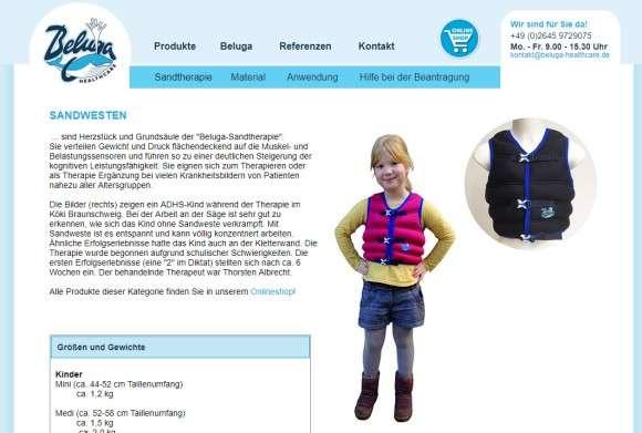 ADHDの子どもたちを落ち着かせるため…ドイツで200の学校が、重い砂入ベストの着用を採用