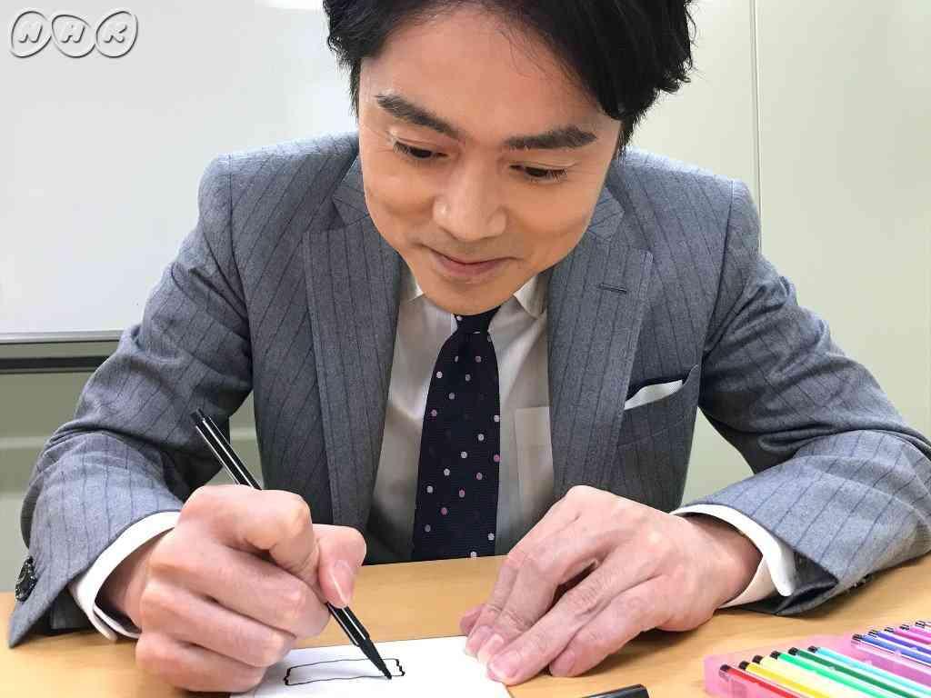 """NHK高瀬アナウンサーに""""アレ""""を描いてもらった「12月26日生まれの私が描く""""悲哀""""です。」"""