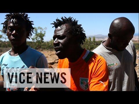 見果てぬヨーロッパ 不法移民たちの死を賭した越境(1)スペイン編 - YouTube