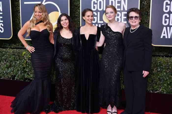 ゴールデン・グローブ賞、黒ドレスでセクハラに抗議 エマ・ワトソン、ケンダル・ジェンナーら集結