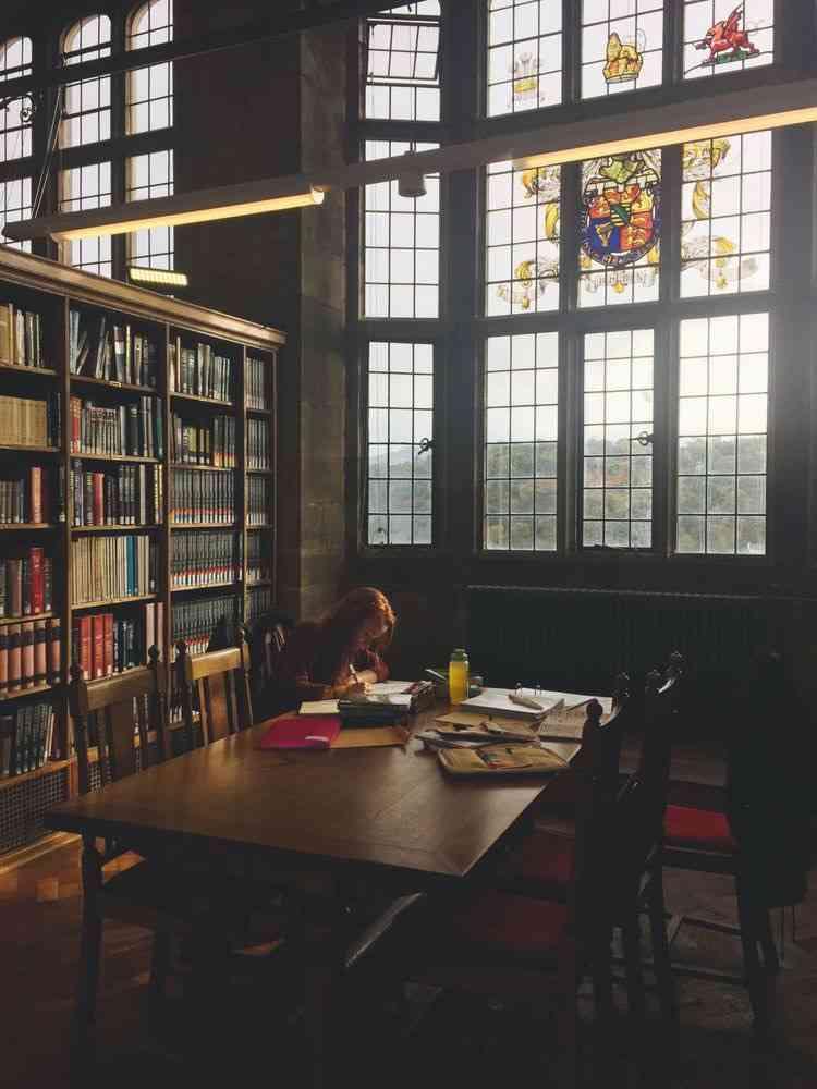 図書館での自習どう思いますか?