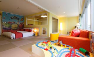 子連れ歓迎のホテル